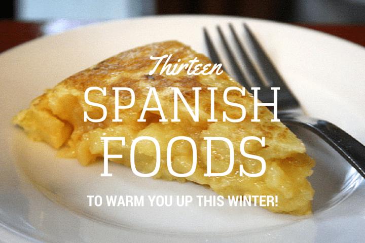 Spanish holiday foods