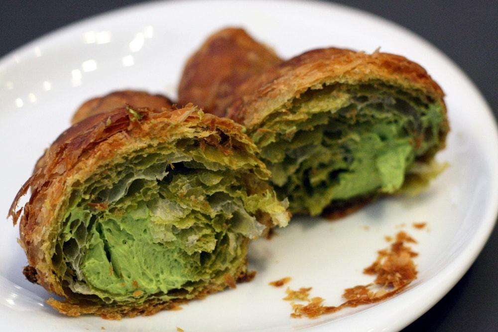 green tea croissant barcelona