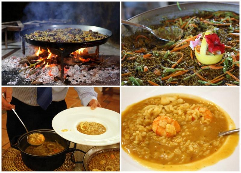 Terres de L'Ebre rice dishes