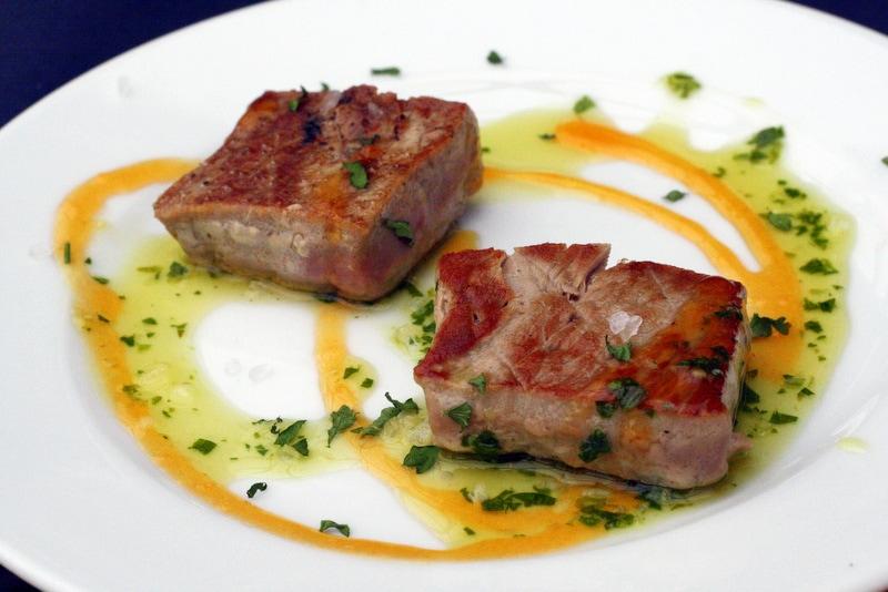 grilled spanish tuna