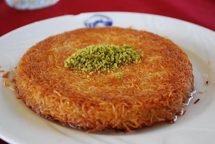 Kunefe Bulgarian comfort foods