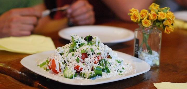 shopska salad bulgarian comfort foods