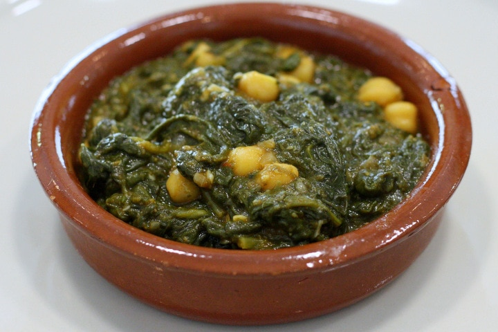 making traditional Seville recipes
