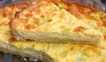 leek and artichoke tart recipe