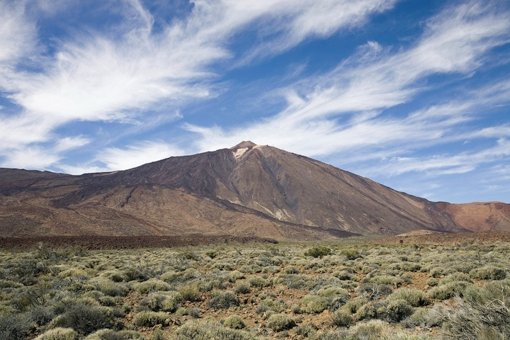 Gorgeous Mount Teide one of Spain's natural wonders.
