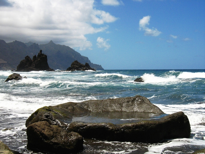 Beautiful Tenerife beaches.