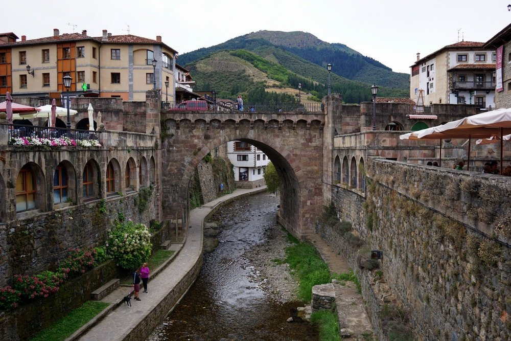 Potes Cantabria is a gorgeous town in the Picos de Europa. Our first stop on the road trip through Asturias!
