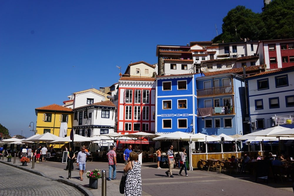 Visiting Cudillero on an Asturias road trip.