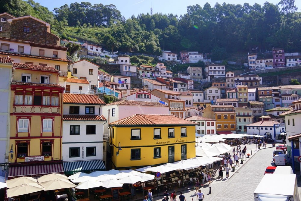 Cudillero Asturias is one of the prettiest villages in Spain.