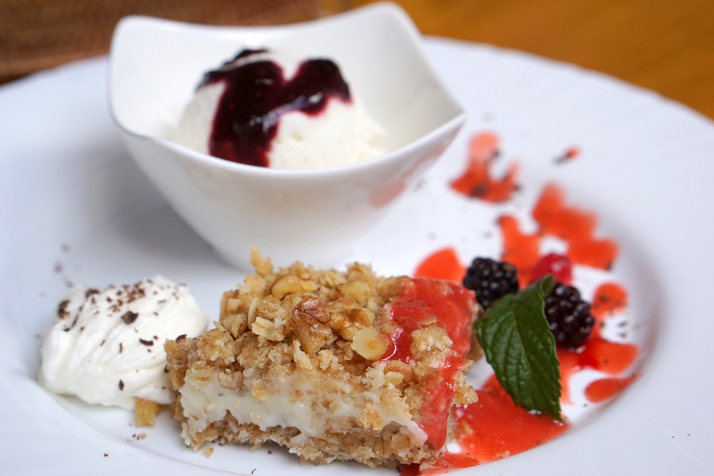 Desserts at Esme Tours cooking classes in Spain