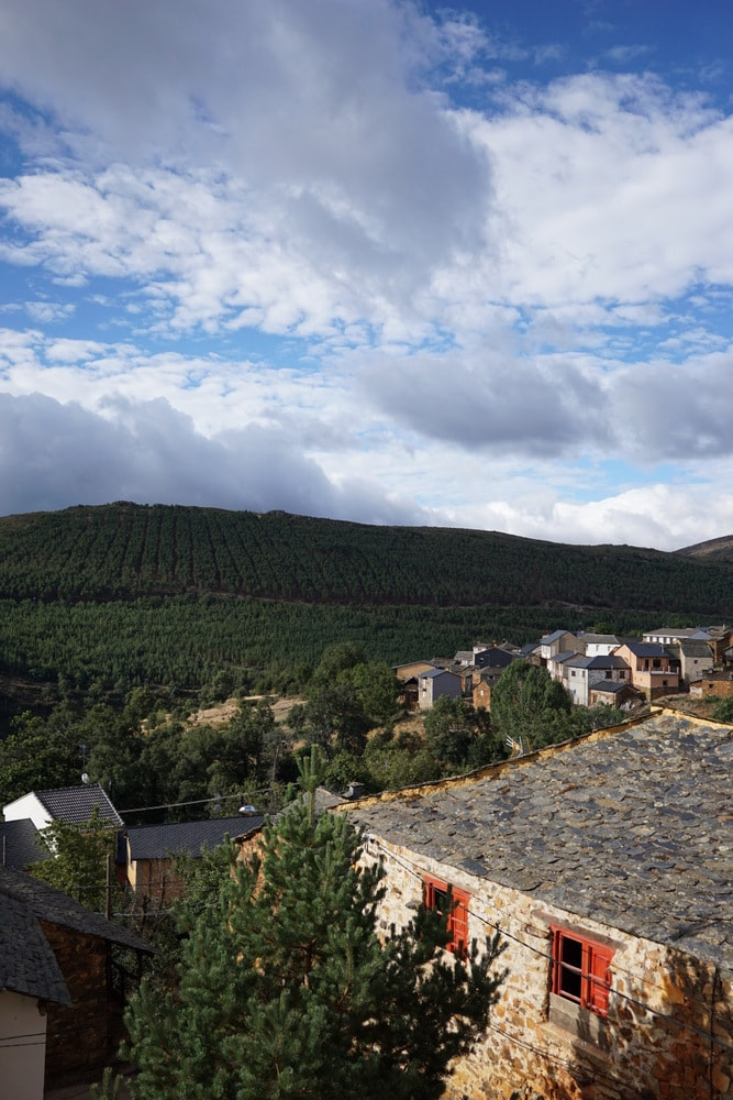 Pozos Leon, as seen from our lovely culinary retreat and cooking classes in Spain with Esme Tours.