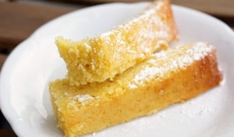 Spanish Olive Oil Cake with Lemon and Almonds