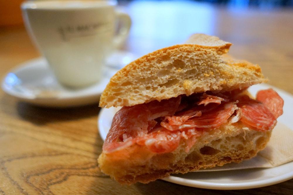 Delicious Spanish sandwiches.
