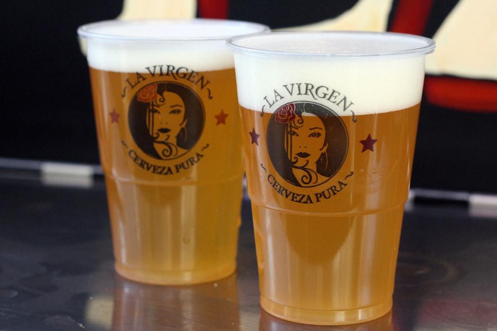 Craft Beer is booming in Spain! La Virgen is one of Madrid's top artisanal beer offerings.