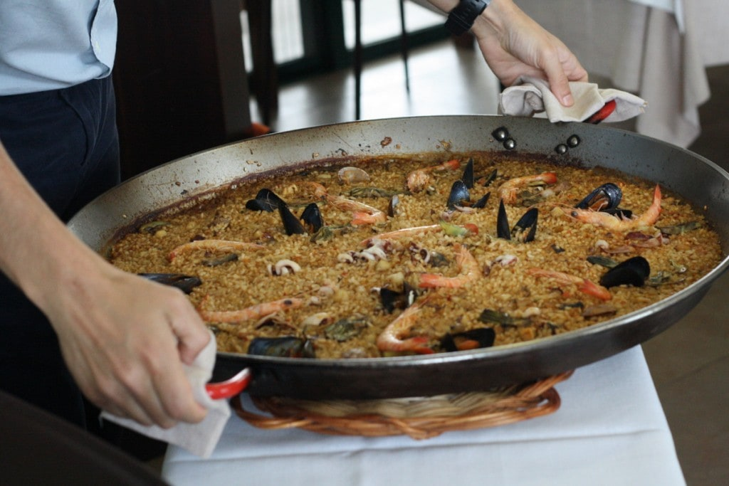 Tasting an authentic paella in Valencia is one of the Spanish food experiences on my bucket list!