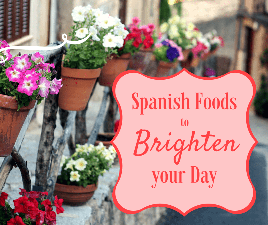 Spanish foods to battle the blues.