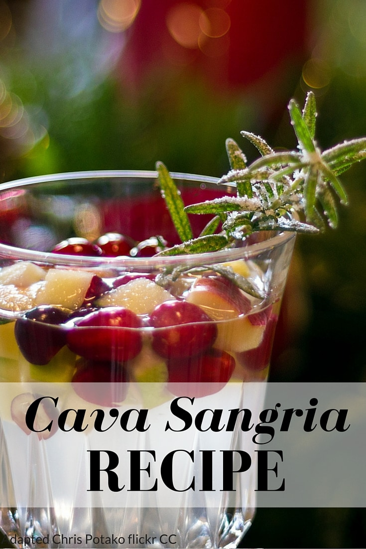 Cava Sangria Recipe - Spanish Sabores