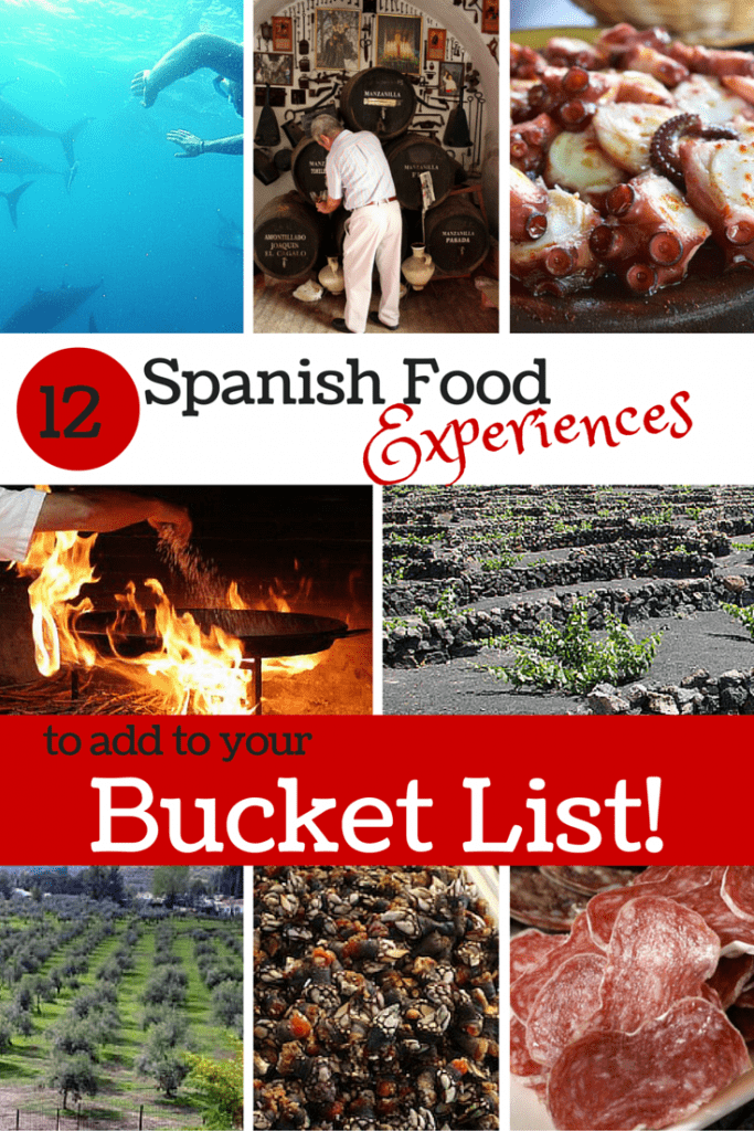 Volcanic vineyards, millennia-old fishing, wildly dangerous barnacle harvests... these 12 Spanish food experiences are at the top of my bucket list!