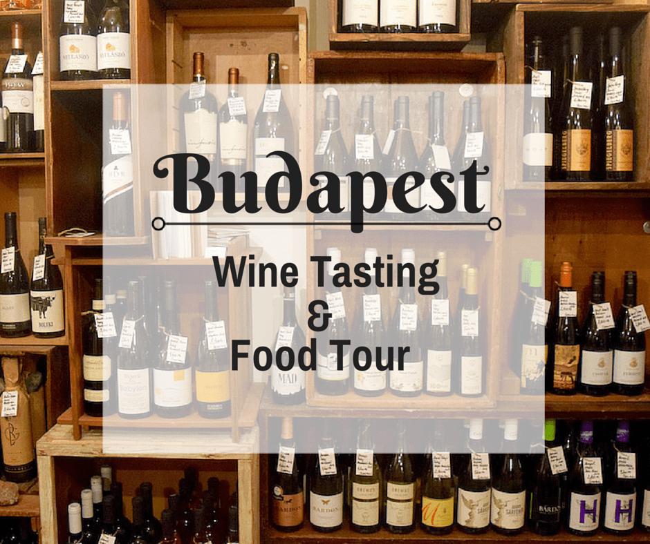 Wine Tasting on a Budapest food tour