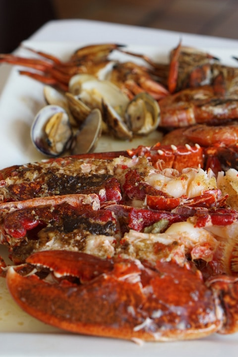 Shellfish in Asturias, Spanish lobster