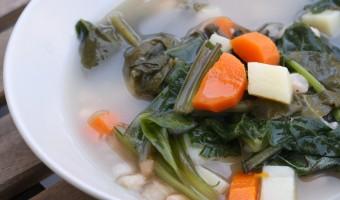 Vegetarian Caldo Gallego Recipe