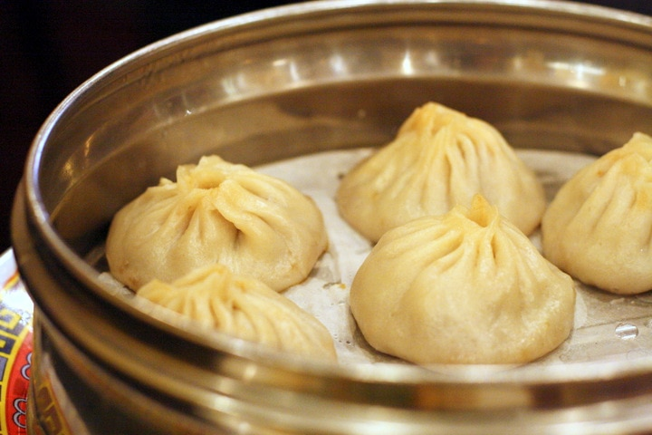 soup dumplings in Boston