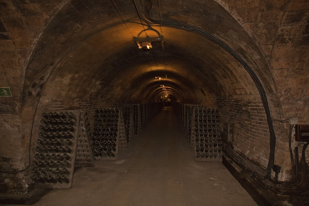 The incredible Codorniu cellars, the best wineries in Spain.