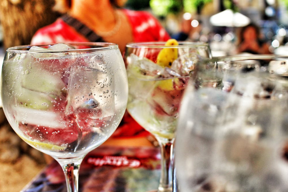 Sundays are Gin Tonic days in Madrid's La Latina neighborhood!
