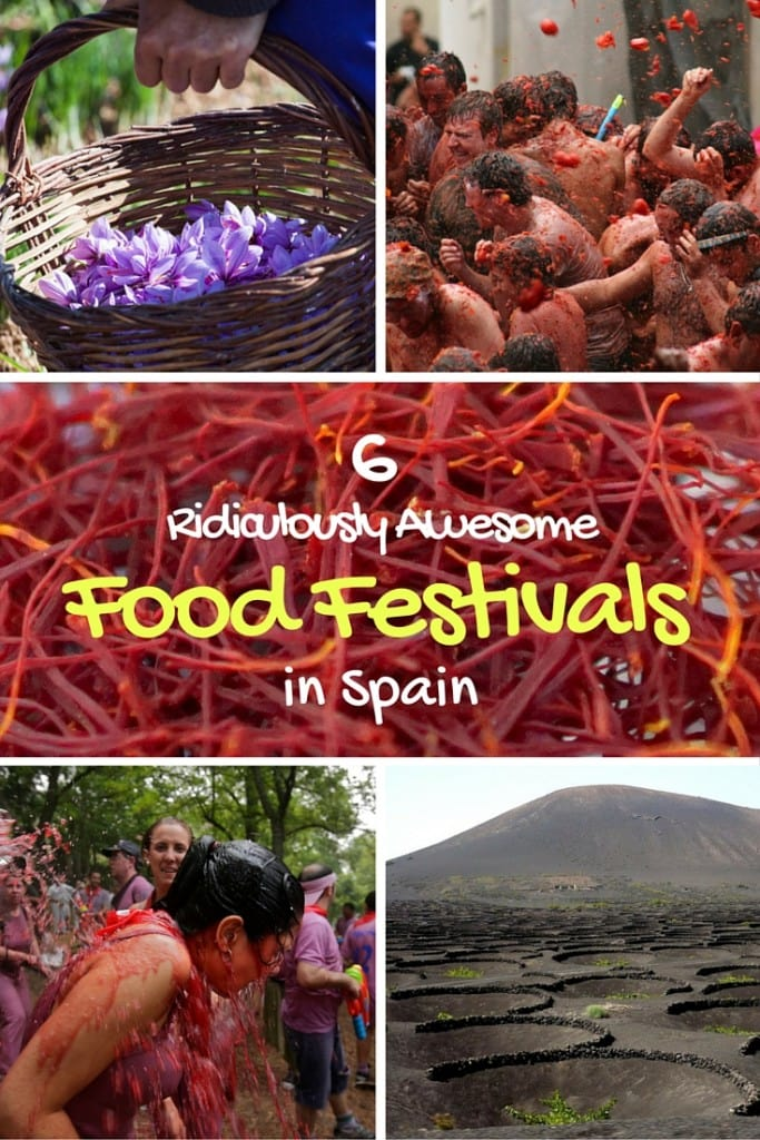 6 ridiculously awesome food festivals in Spain