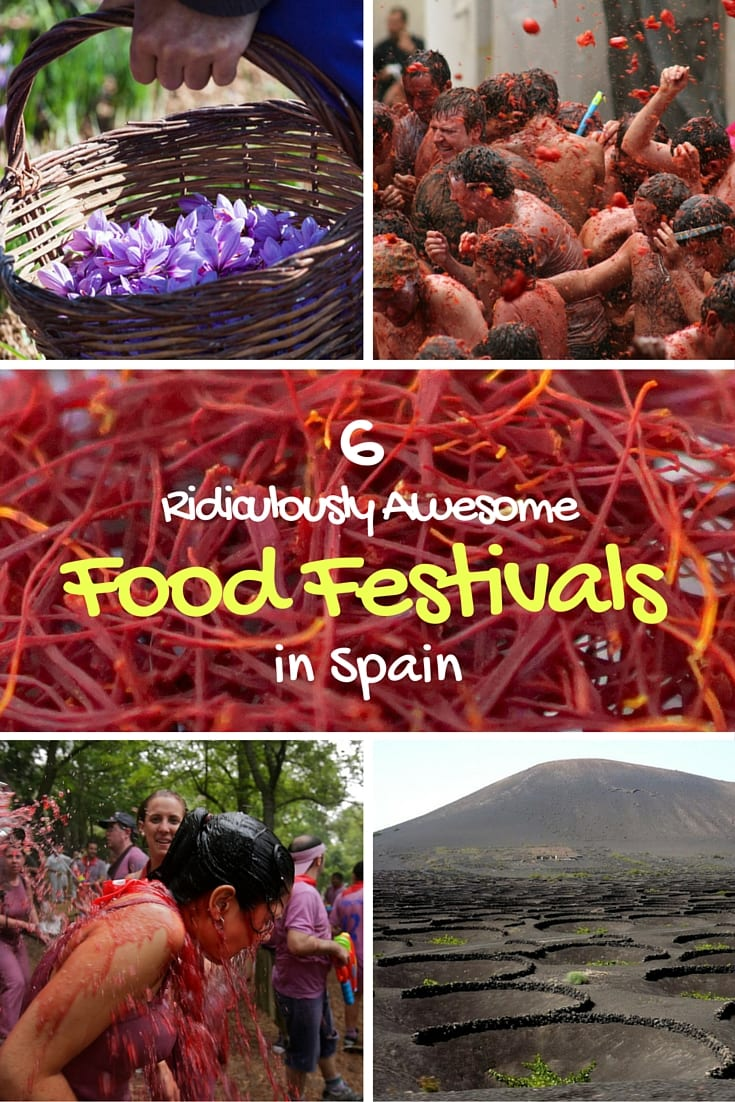 Ridiculously Awesome Food Festivals In Spain An Insiders - 6 awesomely bizarre european food festivals