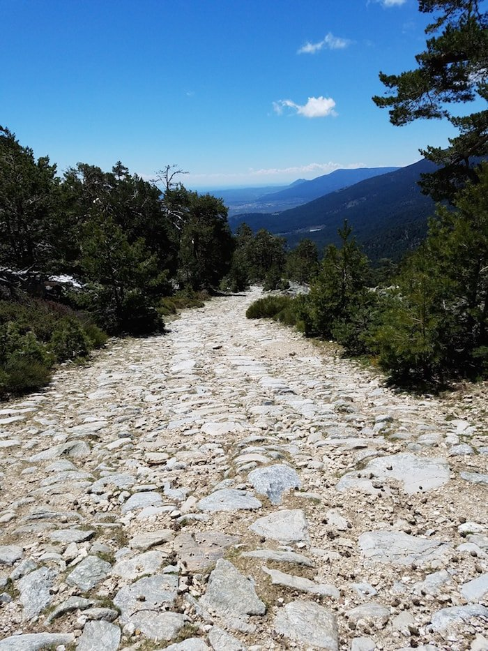 Hiking trails in Cercedilla