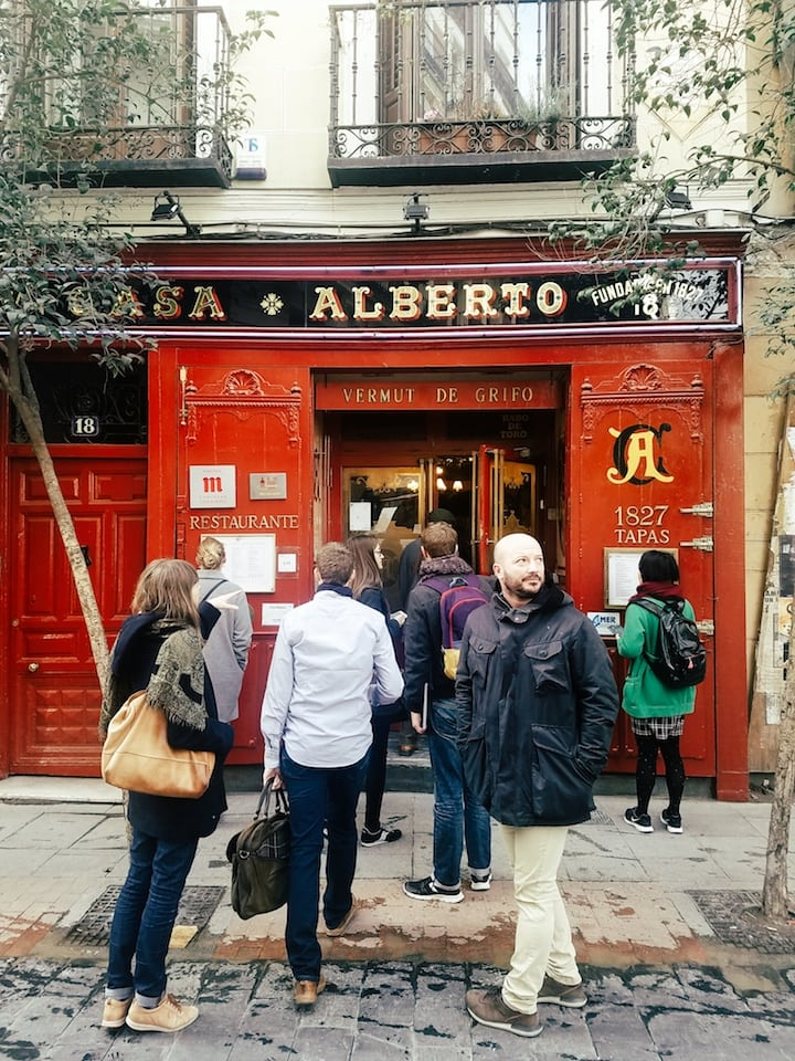 Devour Madrid Botin Lunch Tour