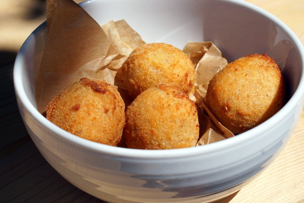 Delicious cod croquettes; Spanish Semana Santa Recipes
