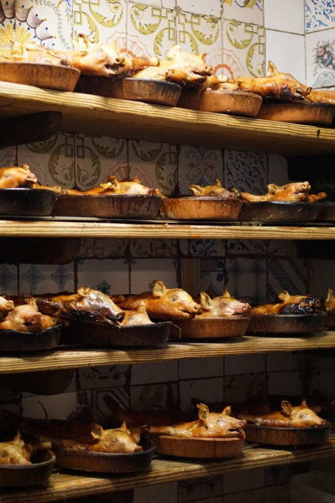 Botin restaurant tour Madrid