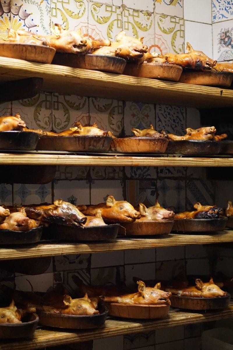 Botin restaurant tour Madrid