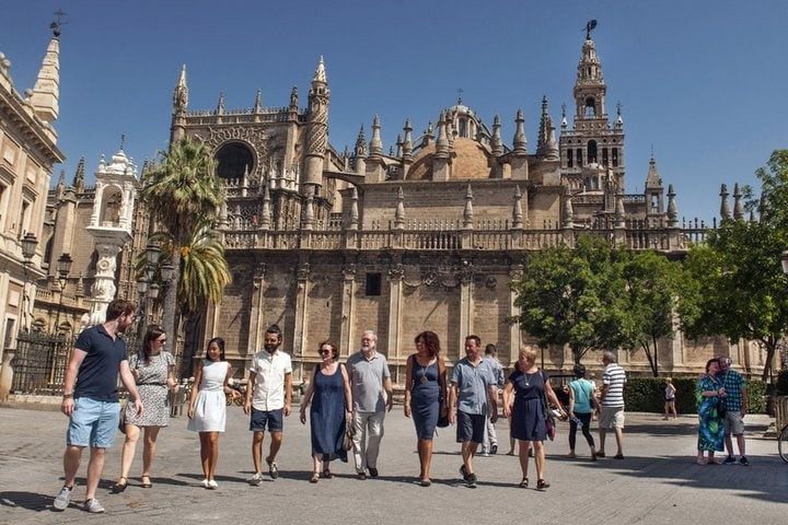 Cathedral Seville 9 day tour in Andalusia 2017