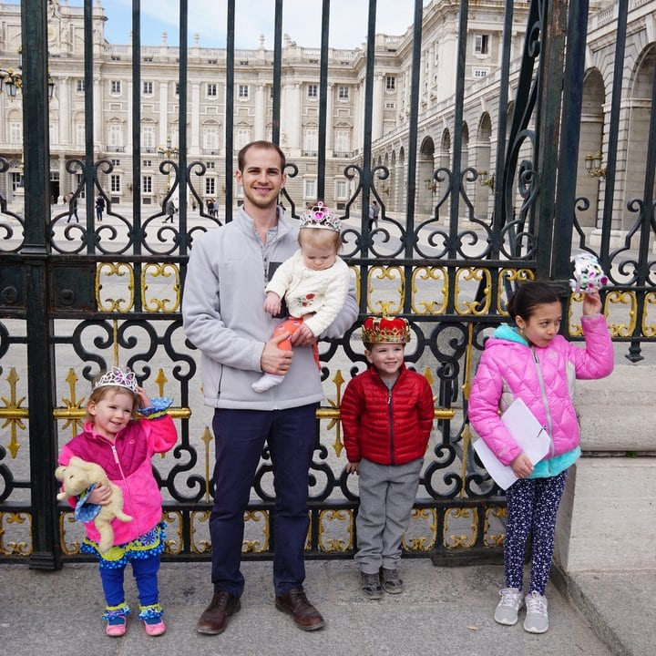 Madrid with kids tour