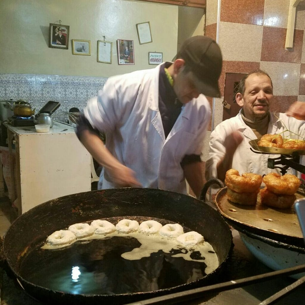Donuts Marrakech food tour
