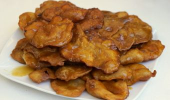 Tortas de la Abuela (Honey Soaked Fried Dough Recipe)