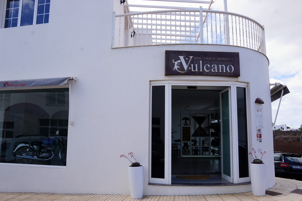 Bodega Vulcano an Urban Winery in Lanzarote