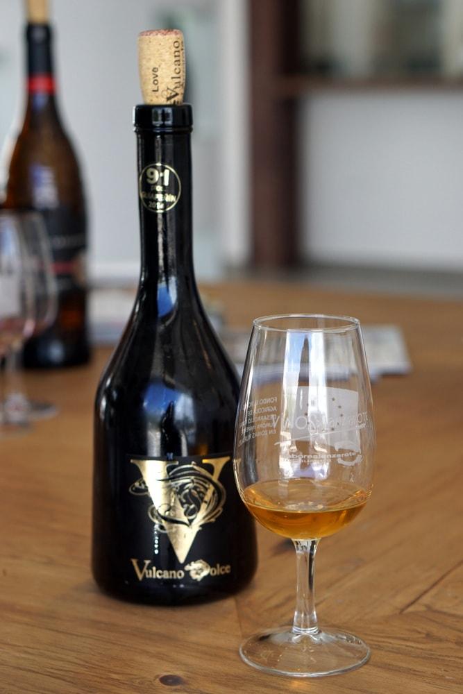 Bodega Vulcano wine tasting in Lanzarote.