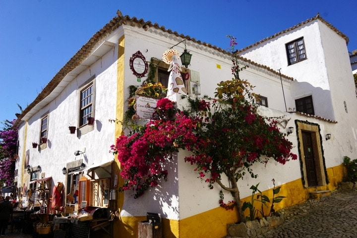 Pretty Óbidos, a gorgeous village in Central Portugal.
