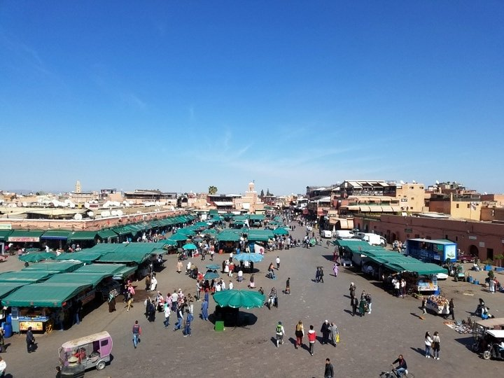 Marrakech main square