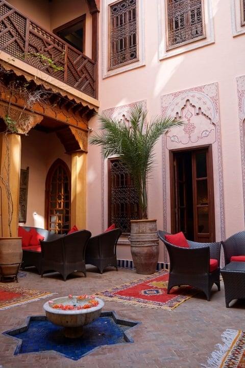 Le Maison Arabe Hotel in Marrakech Morocco