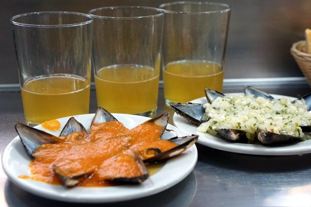 San Sebastian Pintxos Tour mussels