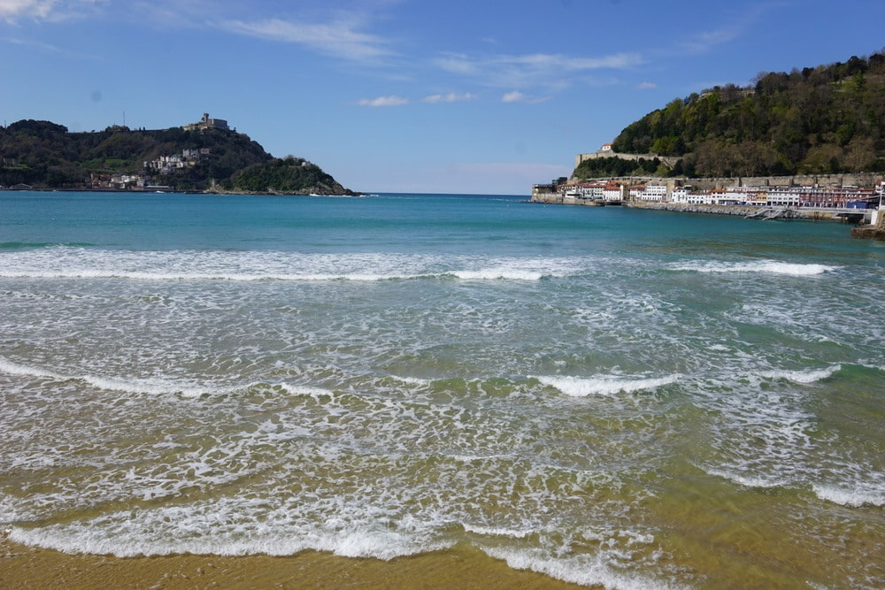 La Concha, San Sebastian's beach.