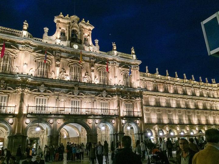 Salamanca Spain from Madrid