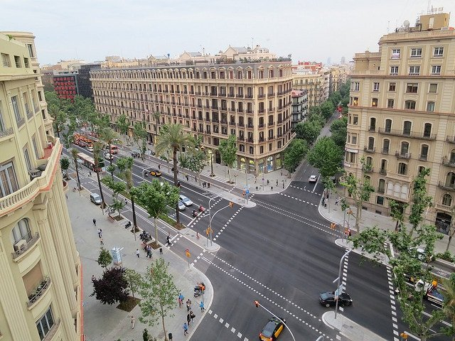 Where to shop in Barcelona - Avinguda Diagonal