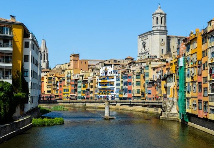 Beautiful Girona - day trips from Barcelona