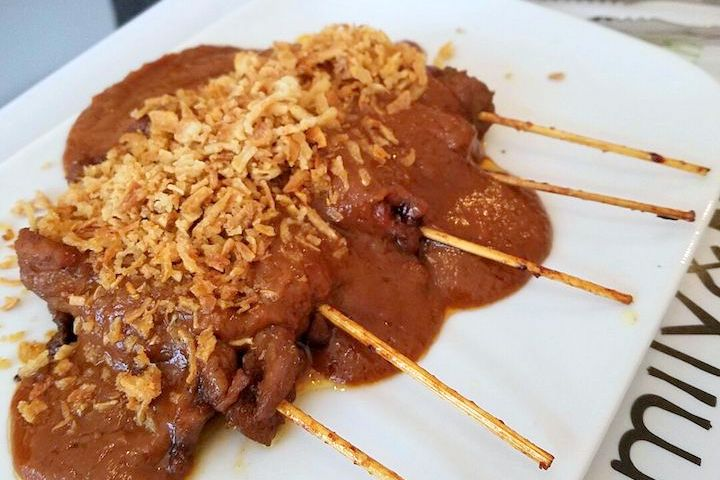 must try foods in Amsterdam - satay